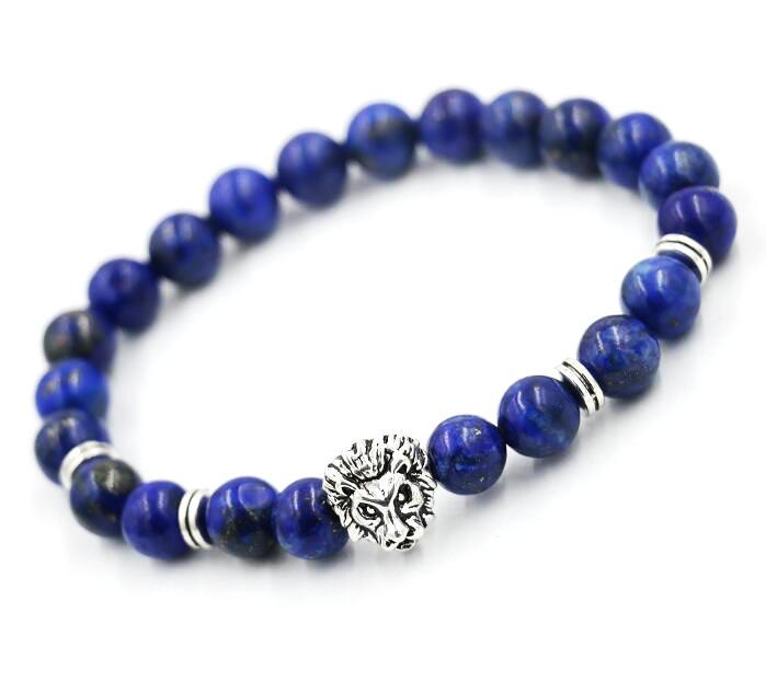 AoSong-Natural-stone-lapis-lazuli-Buddha-Silver-Jewelry-Male-Female-Lion-head-chakra-Bracelets-Prayer-Beads_3
