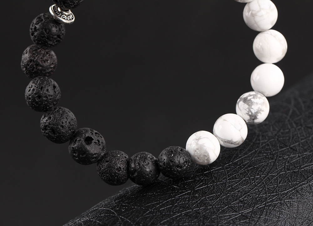 Natural-black-volcanic-rock-loose-circle-of-prayer-beads-hand-string-bracelet-jewelry-wholesale-leopard-head_22